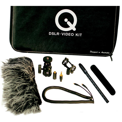 Que Audio Q Video/DSLR Kit:お取り寄せ