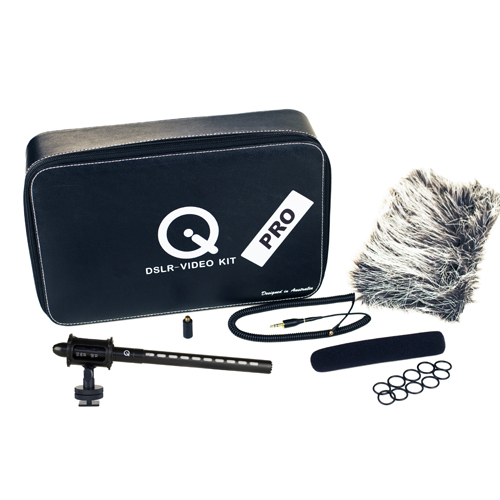 Que Audio Q DSLR-Video PRO Kit:お取り寄せ