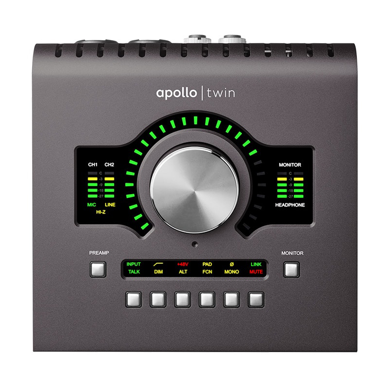 UNIVERSAL AUDIO Apollo Twin MKII Duo:お取り寄せ