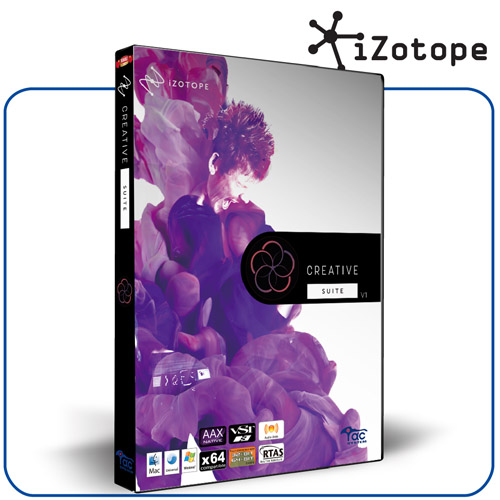iZotope Creative Suite v1:お取り寄せ