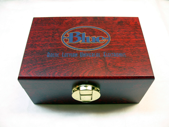 RED Red Mic Wood Box for your vintage Bottle mic capsules 新品処分