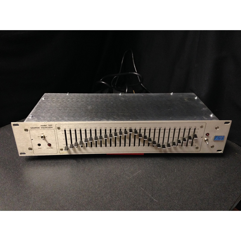 Urei 537 Graphic Equalizer 在庫処分 中古品